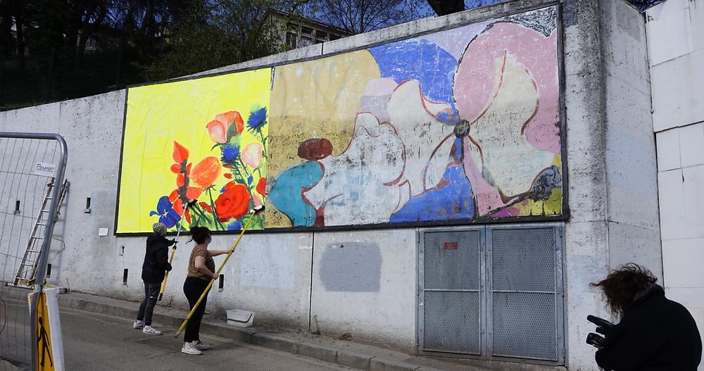 """""""Le bouquet public"""" de Coline Goulot"""