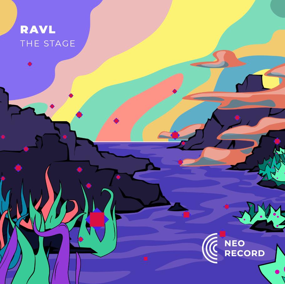 illustration graphique pour la musique RAVL The stage