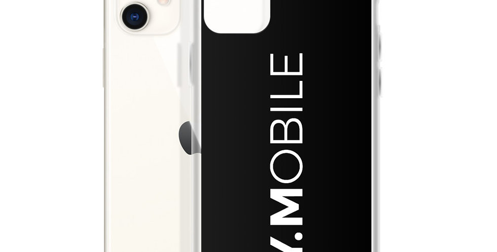 Black iPhone case BY.MOBILE