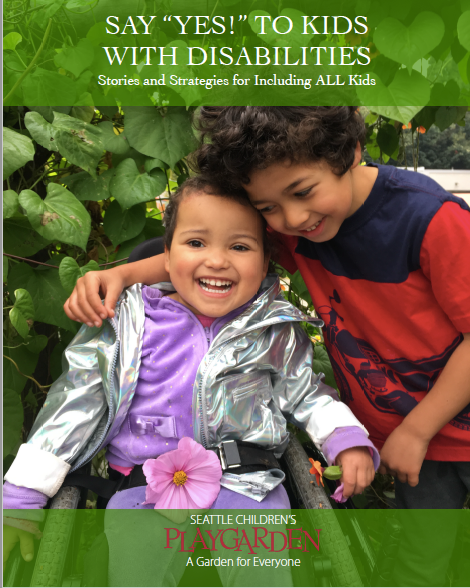 """Say """"Yes to Kids with Disabilities Book Cover"""