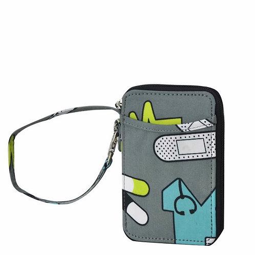 Canvas Wristlet Wallet