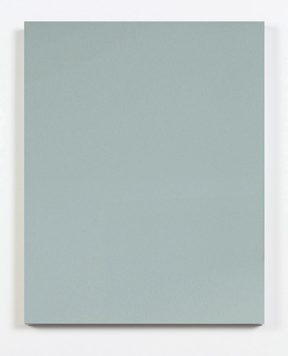 Metallic Blue Door