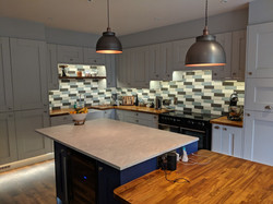 Large social kitchen