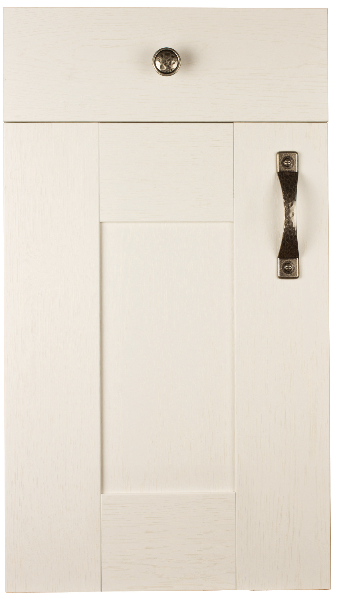 Wilton Woodgrain White Paintable Door