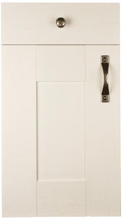 Wilton Woodgrain White Paintable Door