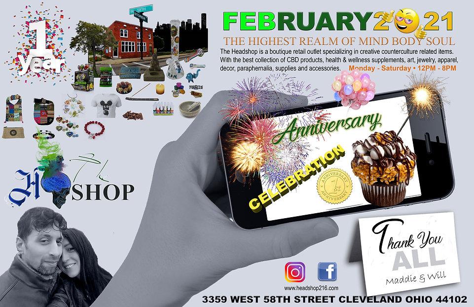 Headshop One Year Anniversary - Poster.j