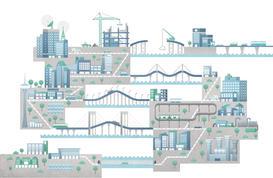 Macau city infographic