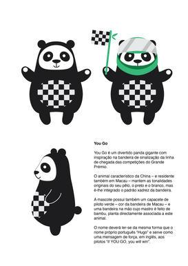 Grand Prix Mascot