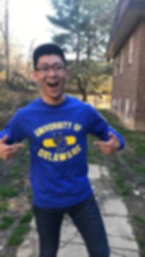 Proud to represent te University of Delaware!