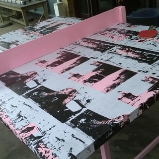 'Elephants in Essex' ping pong table