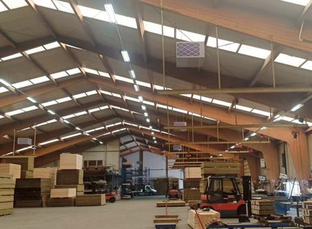 Ook Foreco Houtconstructies kiest voor NJORD clean air filterunits