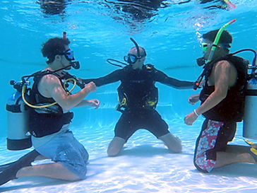 Leren duiken PADI, CMAS