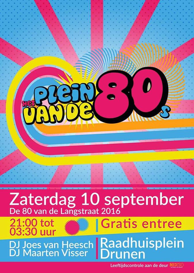 Twee keer de 80 van de Langstraat in Drunen; Dat wordt een geweldig feest !