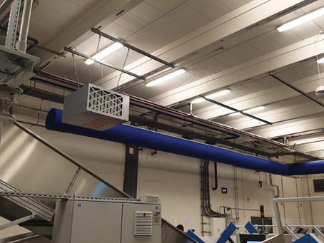 Ook CWS Workwear kiest voor NJORD clean air filterunits