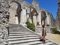 Ancient abbay near Caposele