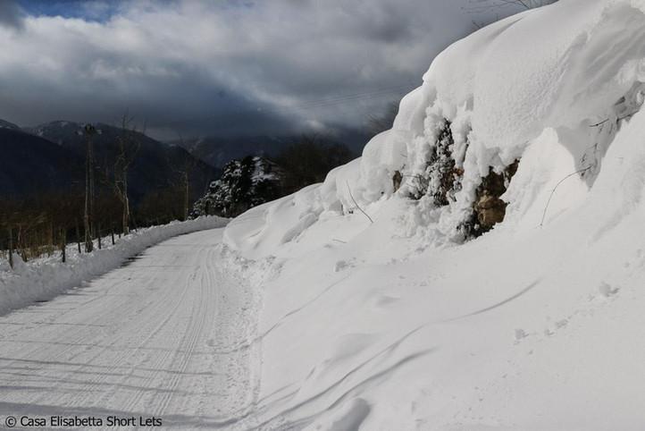 Caposele in snow