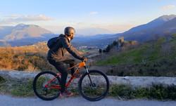 Bike tour around Caposele