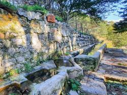 Fountain on Caposele mountain