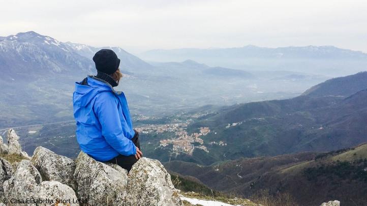 Hiking over Caposele
