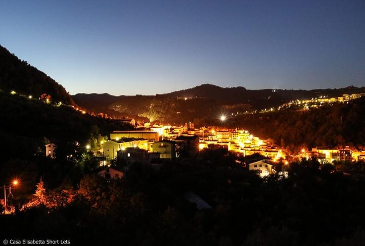Caposele by night