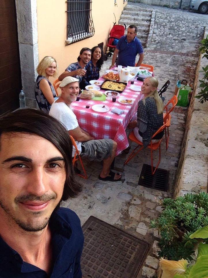 Caposele style dinner