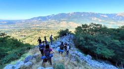 Hiking near Caposele