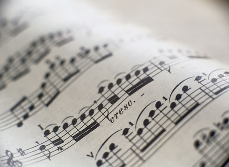 Detail of Sheet Music