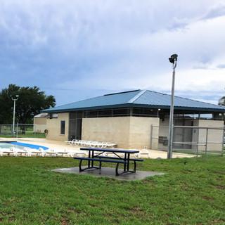 City of La Portte Northwest Park Pool Building