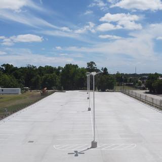 Harris County Lyndon B. Jognson Hospital Overflow Parking Lot