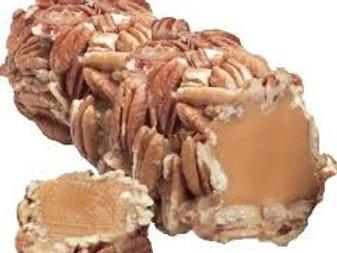 Caramel Pecan Log  1 Lb. Bag