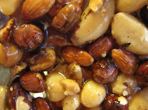 Mixed Nut Brittle  1 Lb. Bag