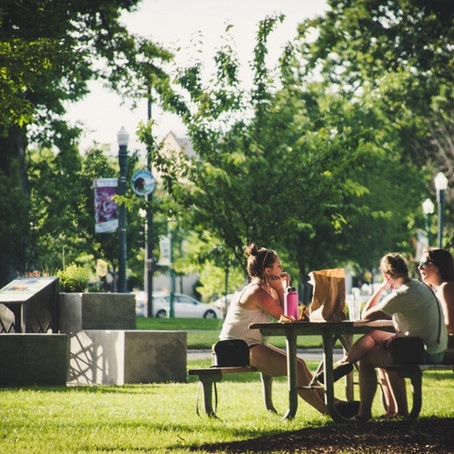 Rutina saludable: Reserva momentos para ir al parque