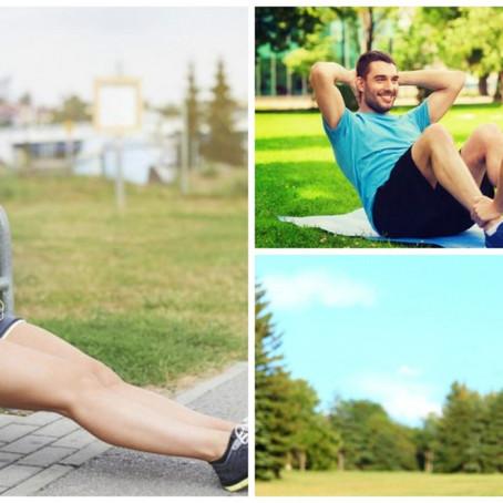 Crea una rutina de ejercicios para tu Gym urbano