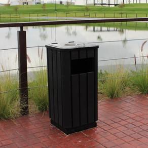 Parques Limpios: Los botes de basura son el primer paso
