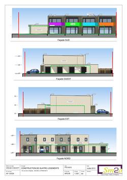 Elévations de façades phase APD