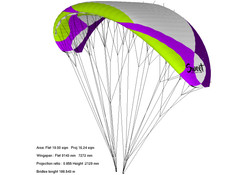 Voile montagne / Hike and fly glider