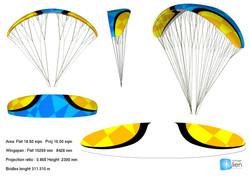 Voile acrobatique / Aerobatic glider