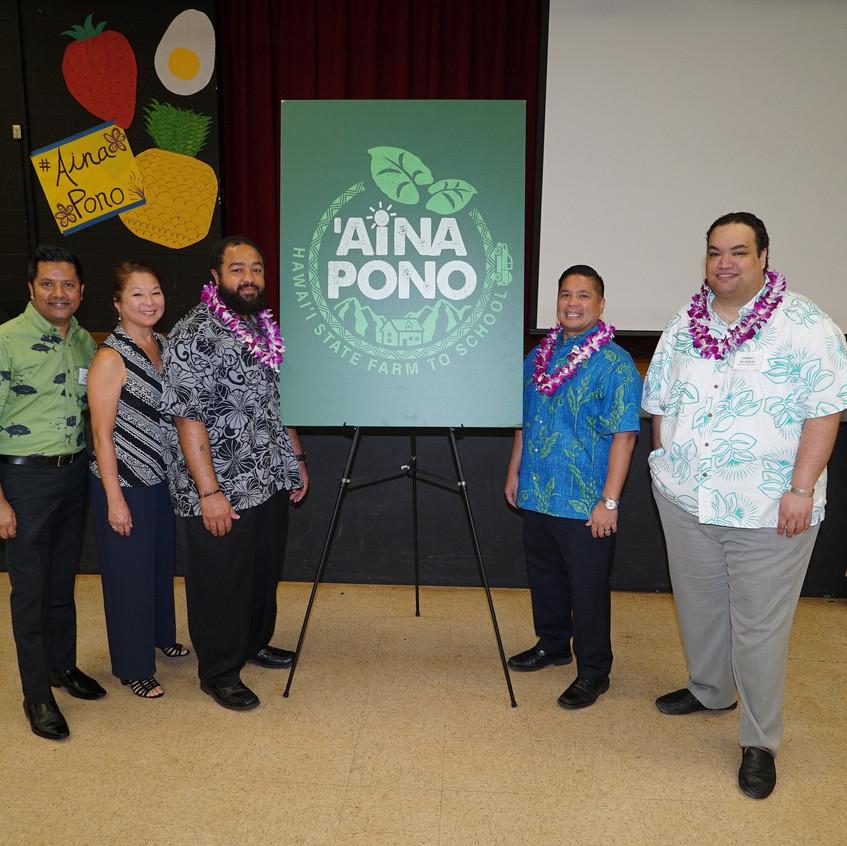 ʻAina Pono Launch