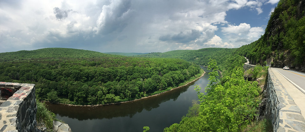The Delaware River as seen from Upstate, NY.