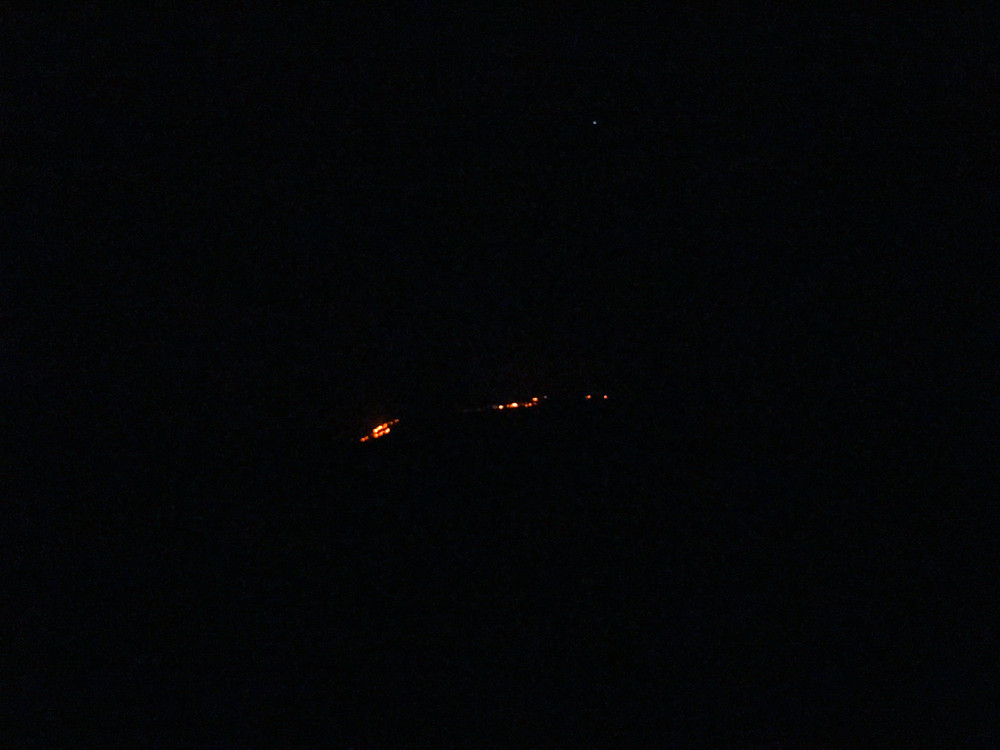 Hawai'i Island Lava Flow - about one mile away. 12 July 2016
