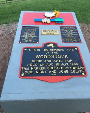 Original Site of Woodstock