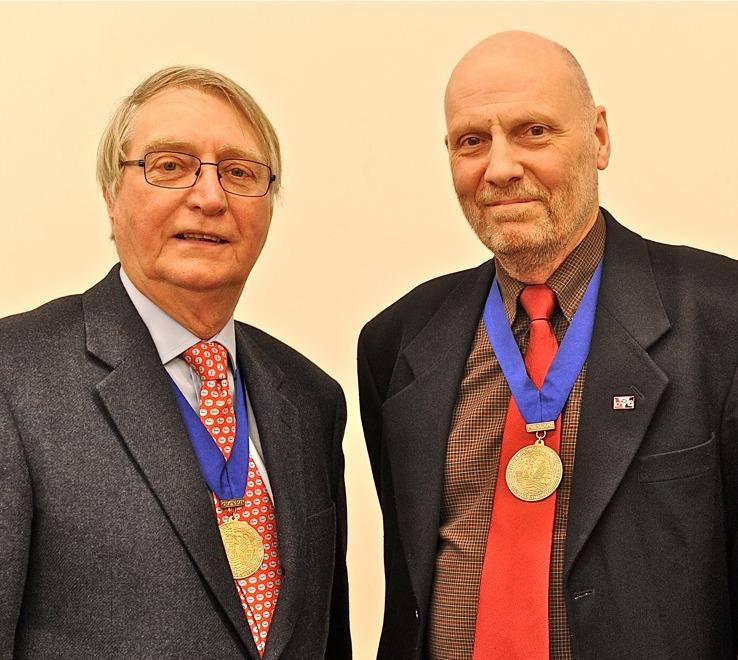 John Woodall & Keith Hodgkins
