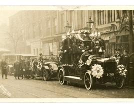 Brierley Hill Fire Brigade Funeral parade