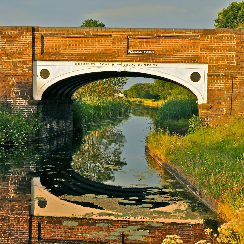 Canal bridge Pelsall