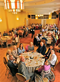 BCS Members at Himley Hall 50th Anniversary