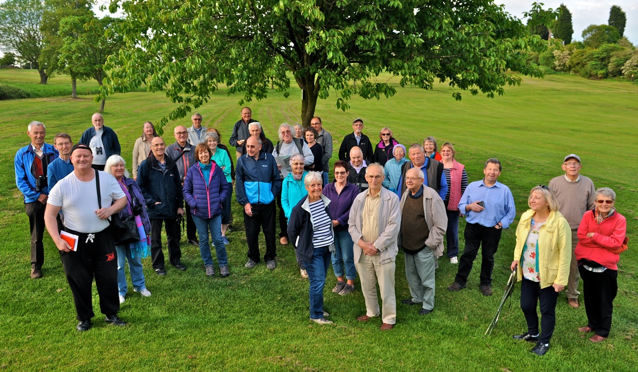 BCS Members on Summer Walk 2019