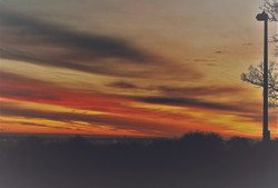 Sunrise over the Black Country