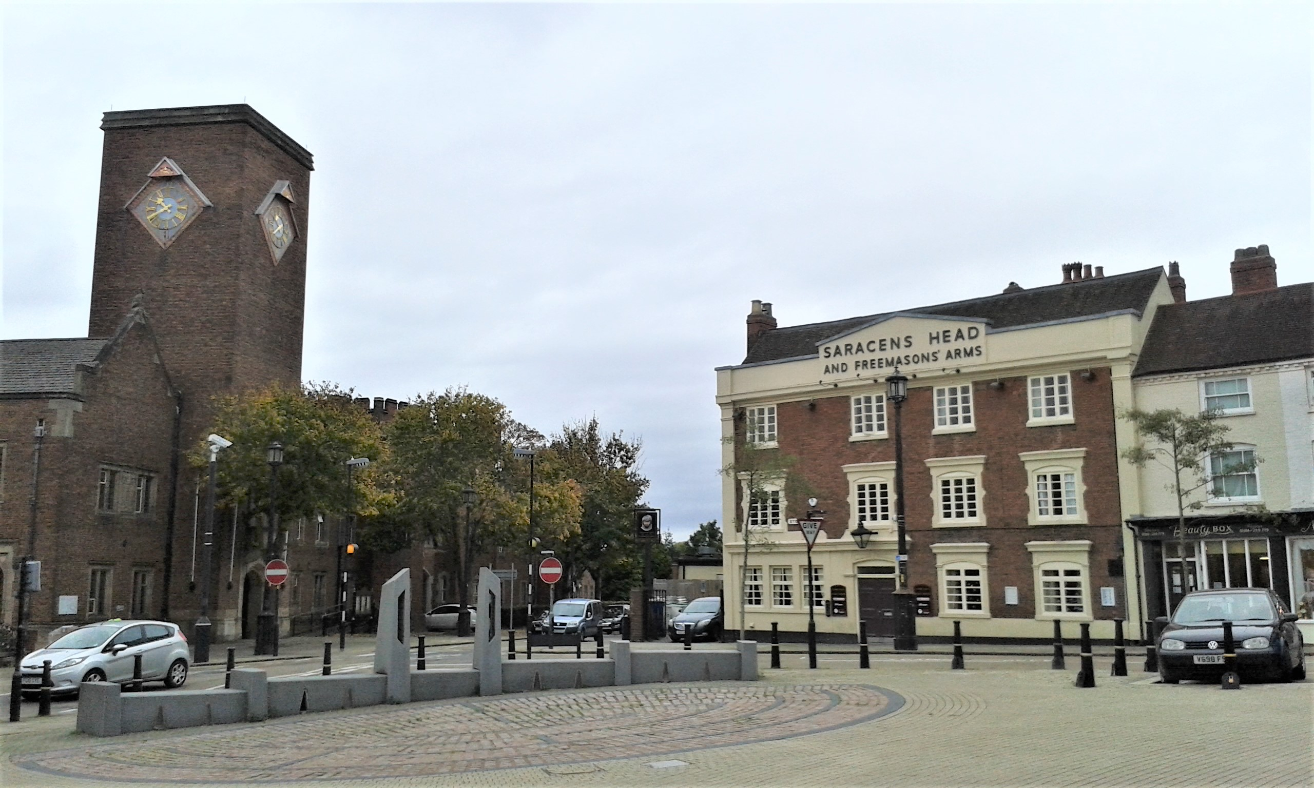 Dudley Town Centre