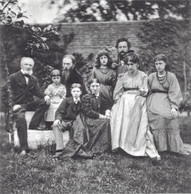 Byrne-Jones and friends and family