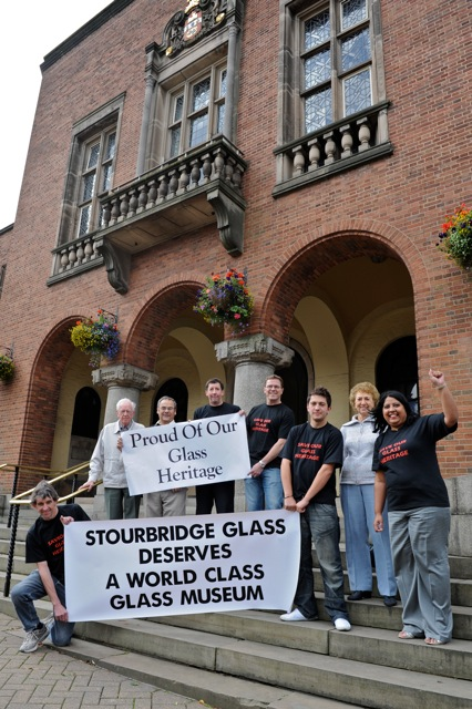 BCS support Stourbridge Glassmaking Heritage
